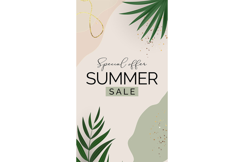 summer-sale-poster-natural-background-for-poster