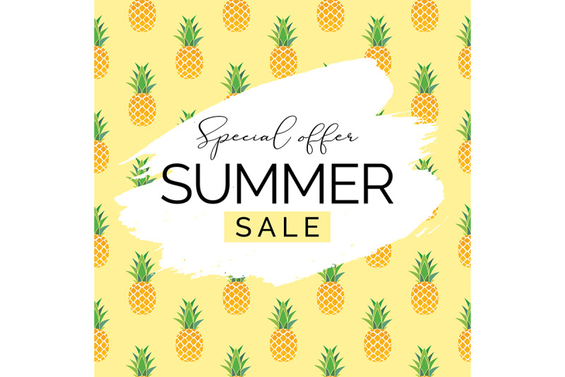 summer-sale-natural-background-with-pineaples