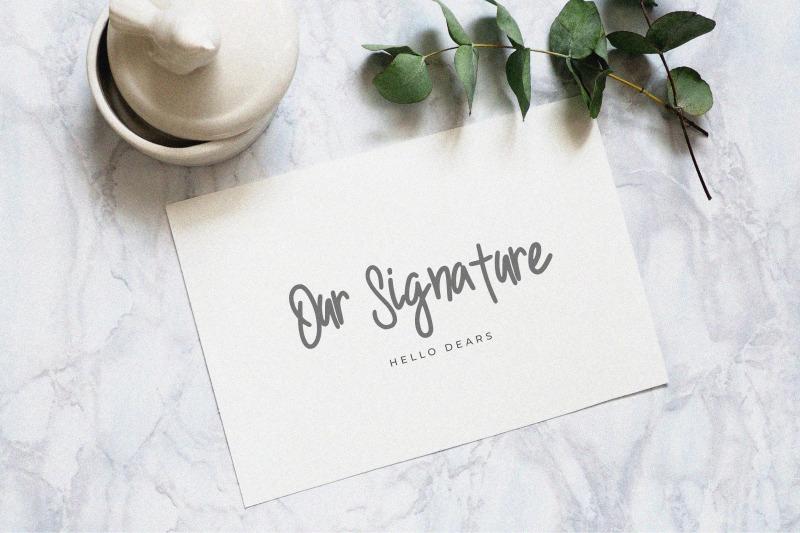 doelan-a-handwritten-font