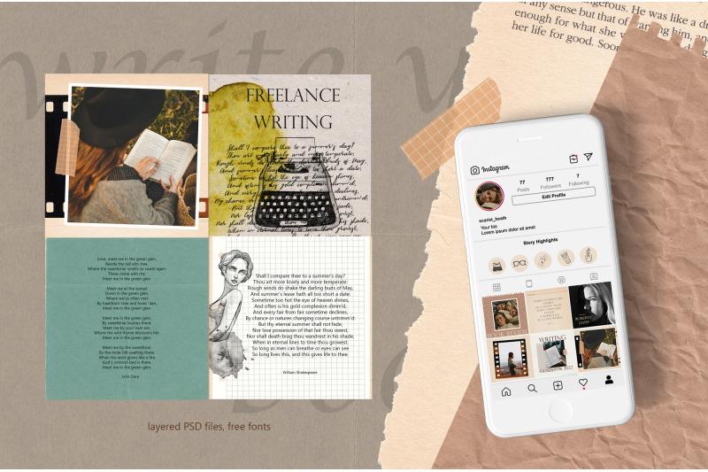 author-social-media-pack