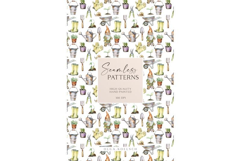 watercolor-garden-digital-paper-gardening-seamless-pattern-for-fabric