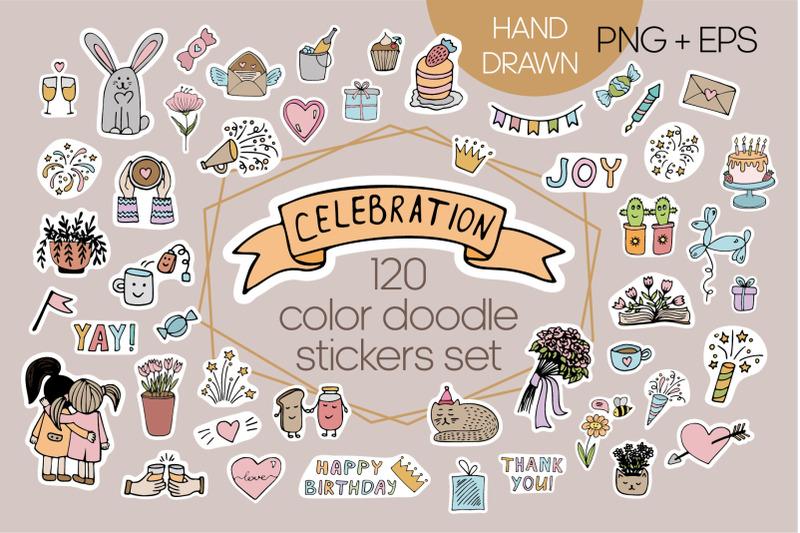 celebration-color-stickers-set