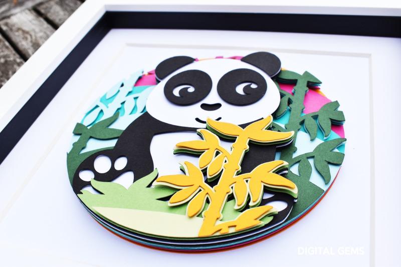 panda-layered-paper-design