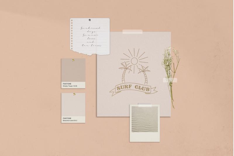 retro-frame-logo-element-illustrations