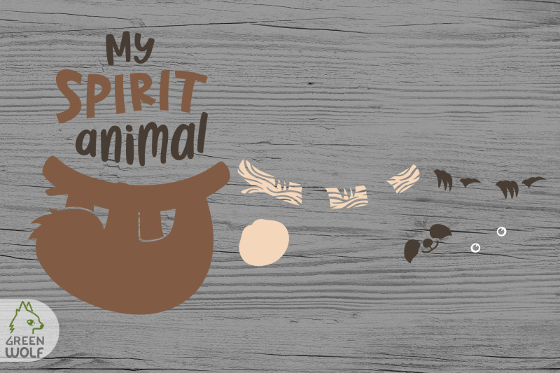 sloth-is-my-spirit-animal-layered-loth-svg-file-funny-pillow-svg