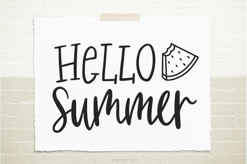 hello-summer-svg-cut-file