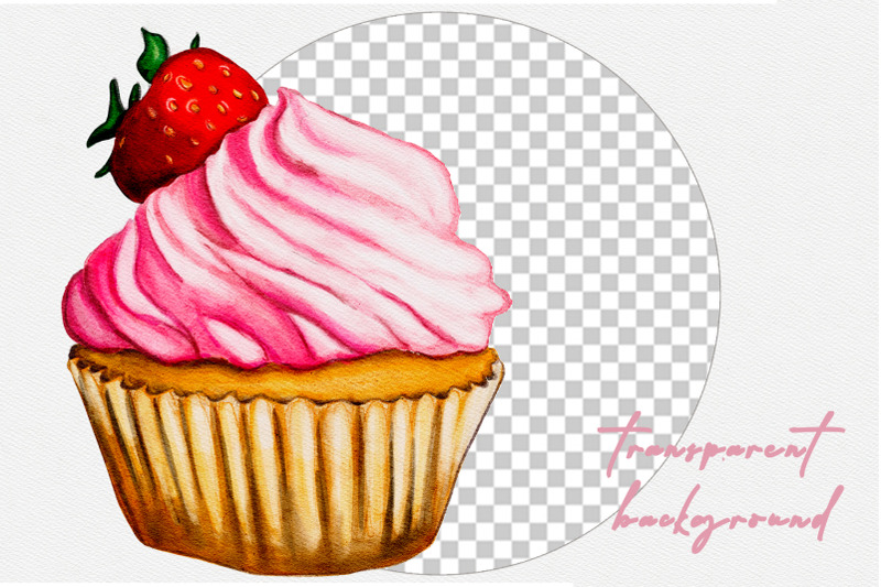 hand-drawn-watercolor-cake