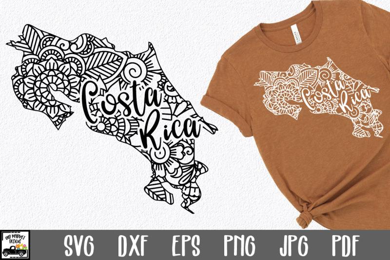 costa-rica-svg-file-costa-rica-mandala-design