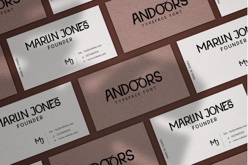 andoors