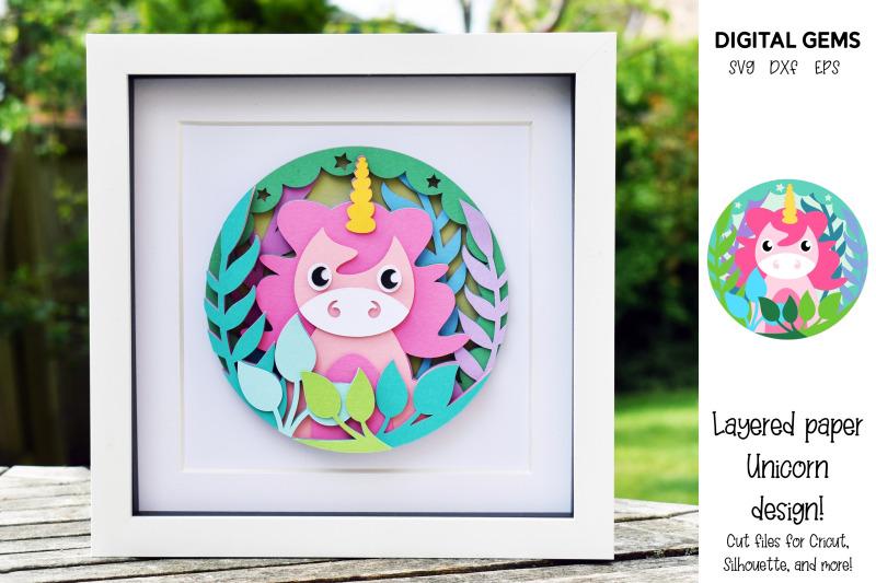 unicorn-layered-paper-design