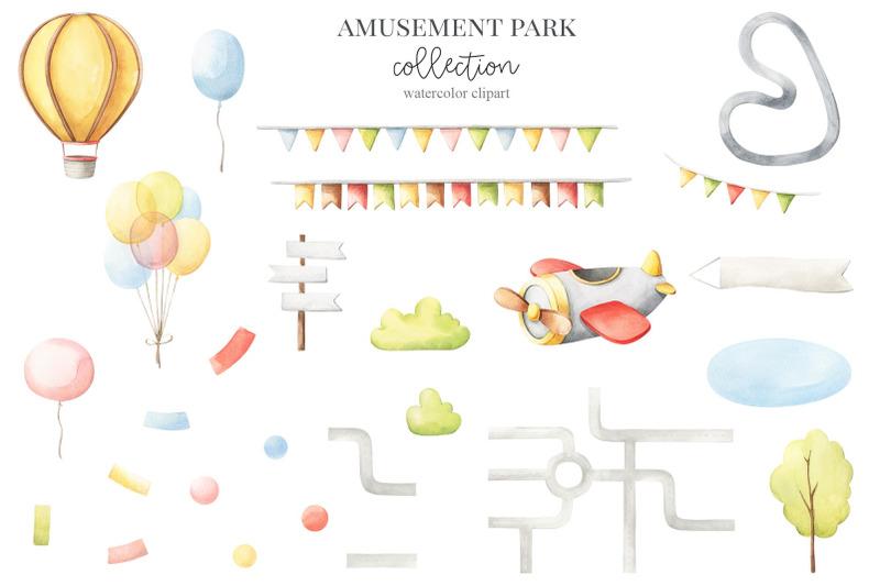 amusement-park-watercolor-set