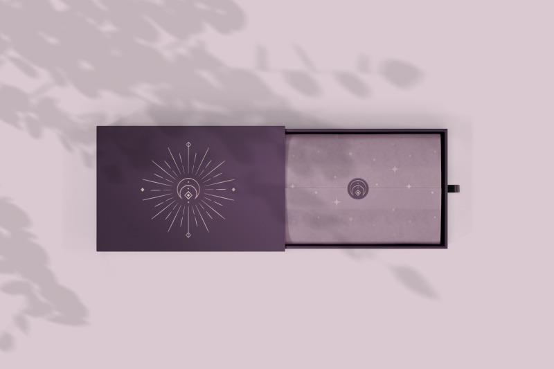 divine-beauty-pre-made-logo-designs-moon-stars-sunbursts-butterfly