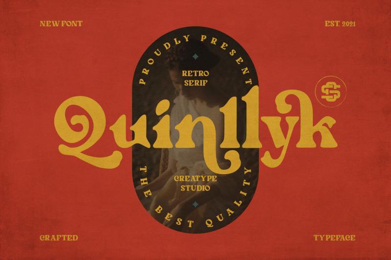 quinlliyk-retro-serif