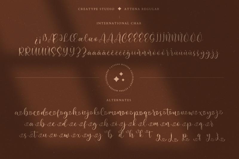 attena-modern-calligraphy