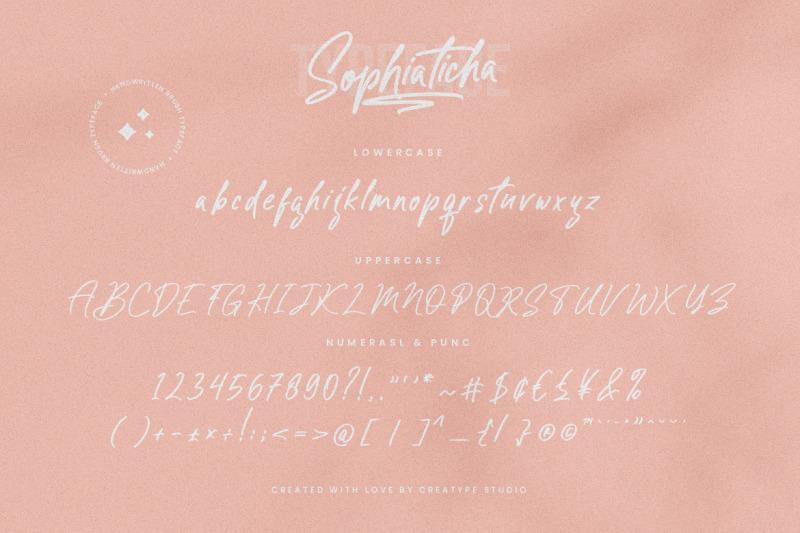 sophiaticha-handwritten-brush