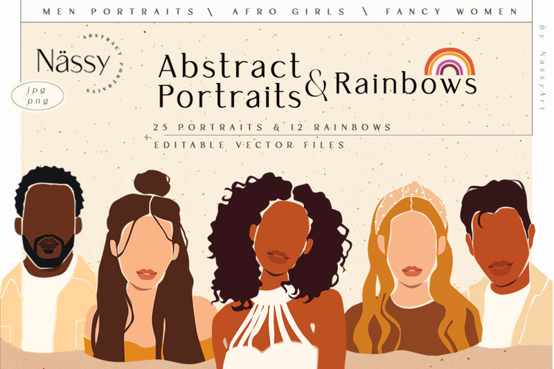 abstract-women-amp-men-portraits