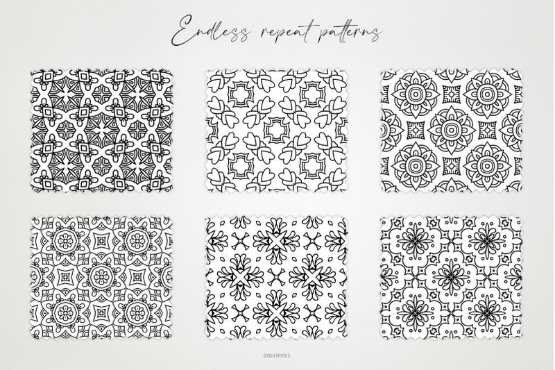 monochrome-ornaments-vector-patterns-vol-2