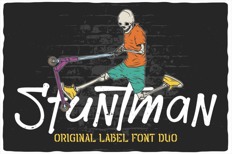 stuntman-font-duo