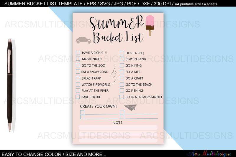 summer-bucket-list-planner-template