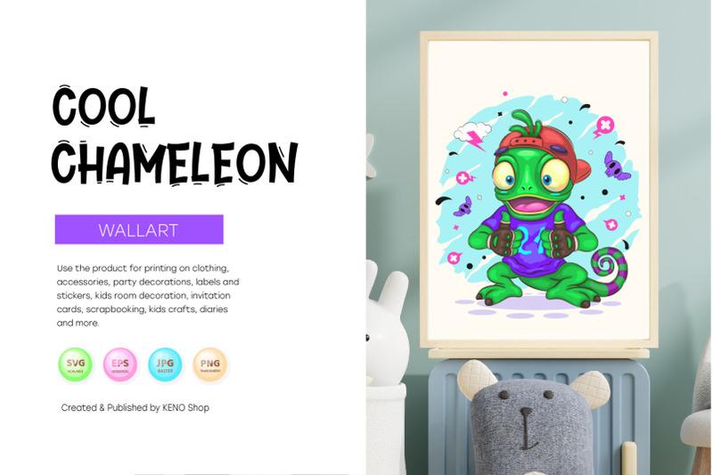 chameleon-cartoon-character