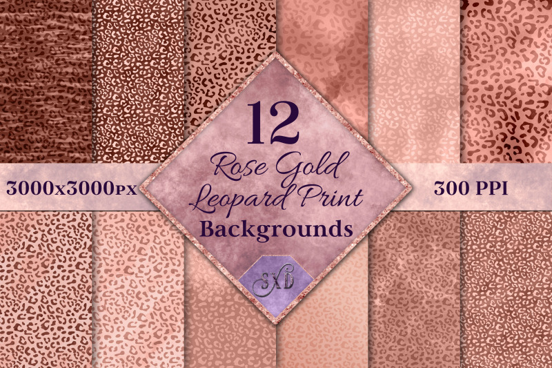 rose-gold-leopard-print-backgrounds-12-image-textures-set