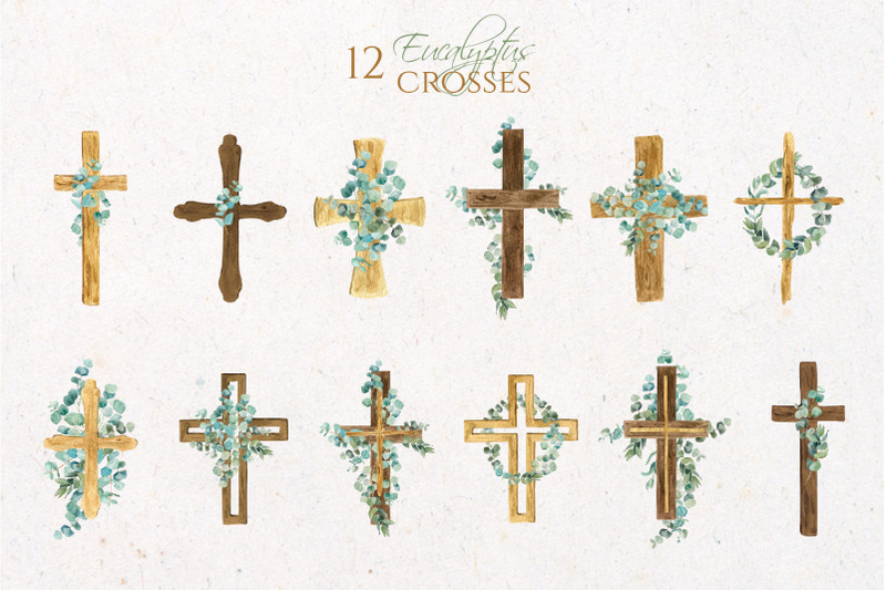 eucalyptus-wooden-watercolor-cross