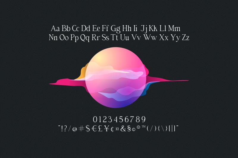 billiers-modern-ligature-typeface