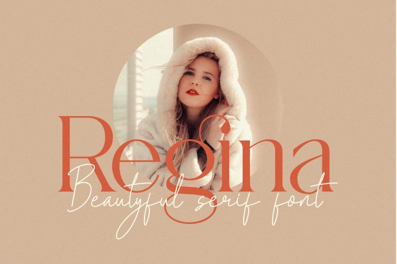 regina-beatyful-serif-font