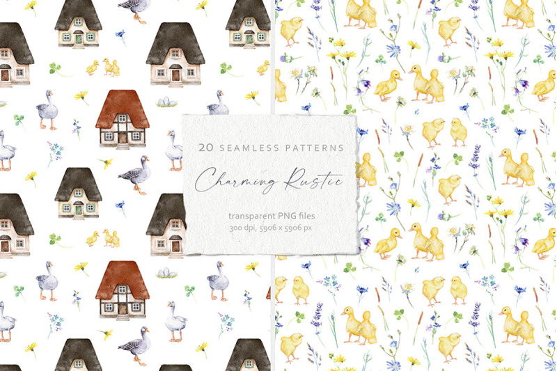 20-seamless-patterns-collection