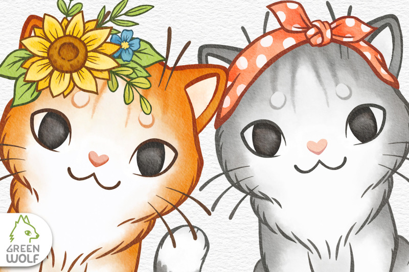 cat-clipart-watercolor-cats-clip-art-watercolour-kitten-png