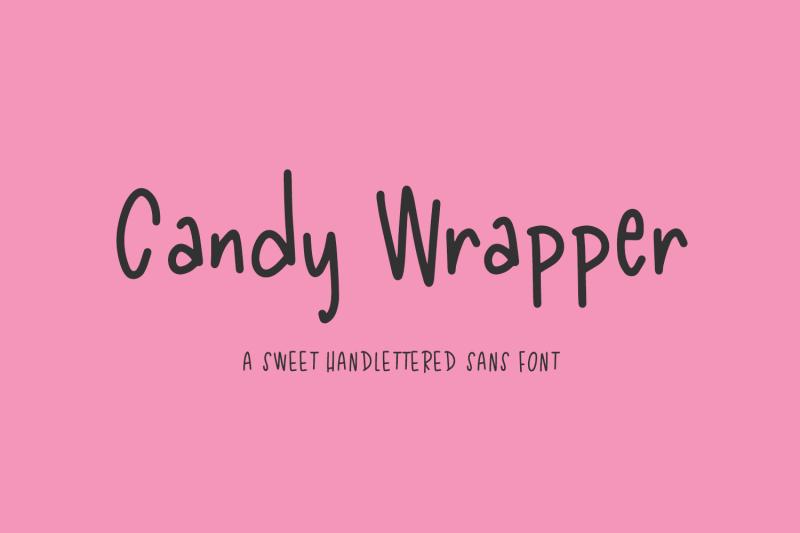 candy-wrapper-sans