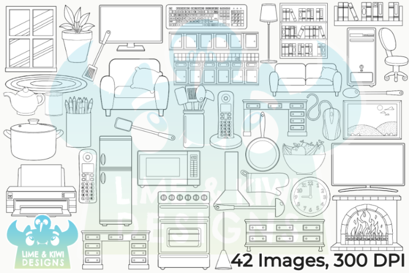 around-the-house-2-digital-stamps