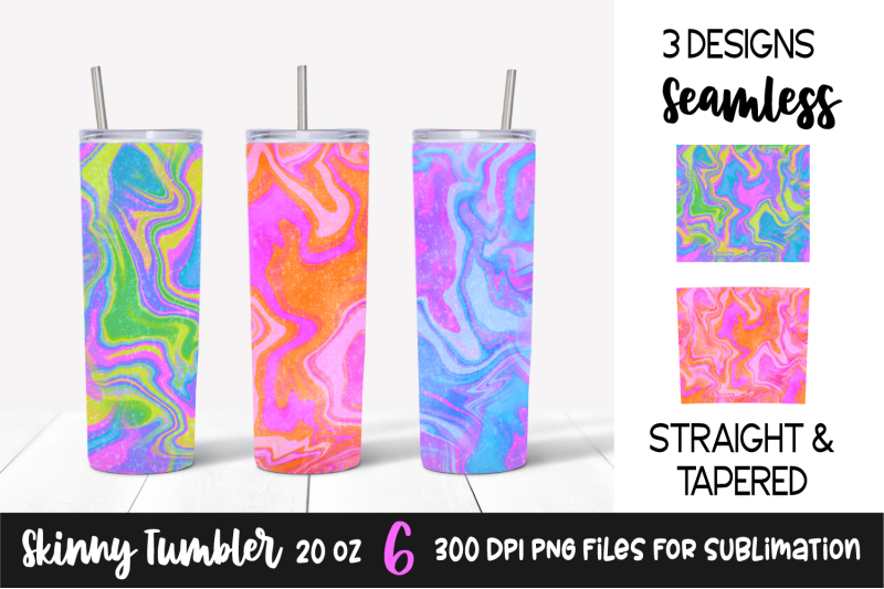 colorful-marble-skinny-tumbler-20oz-sublimation-designs