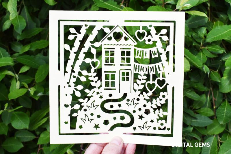 new-home-paper-cut-design