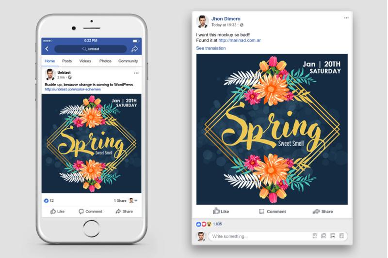 spring-season-facebook-post-banner