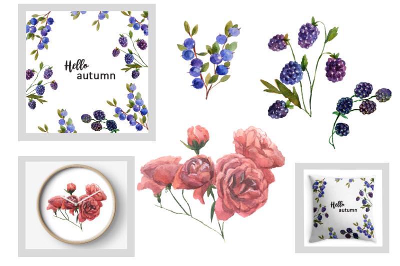 watercolor-autumn-bouquets