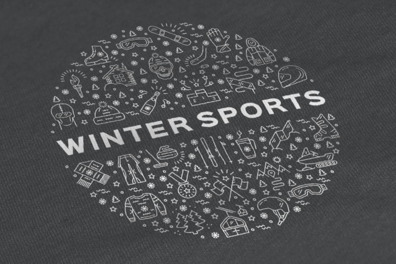 winter-sport-icons-branding-graphics