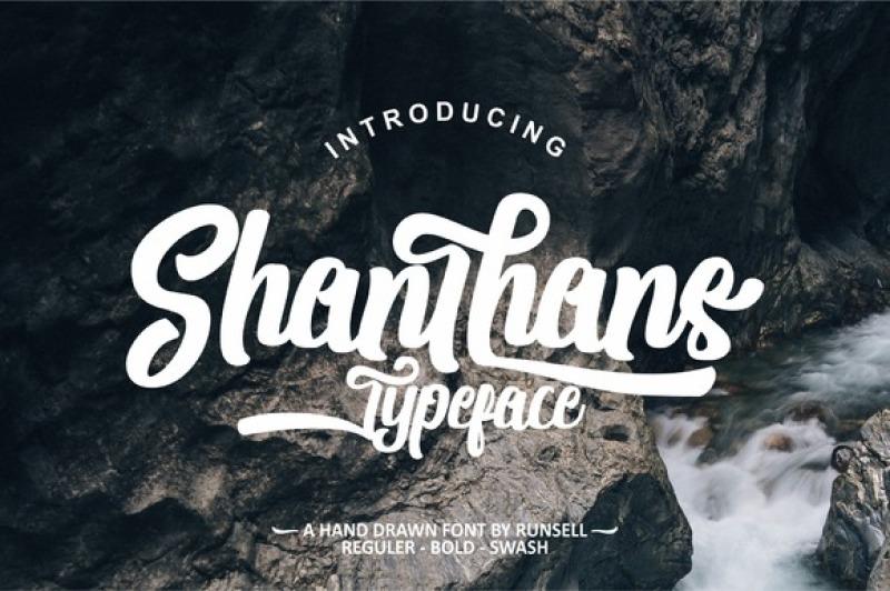 shanthans-typeface