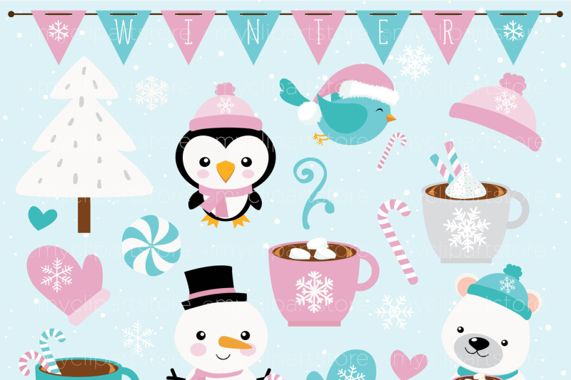 christmas-frosty-friends-vector-clipart