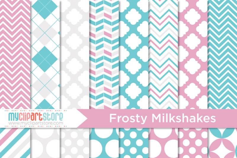 frosty-milkshakes-digital-paper-patterns