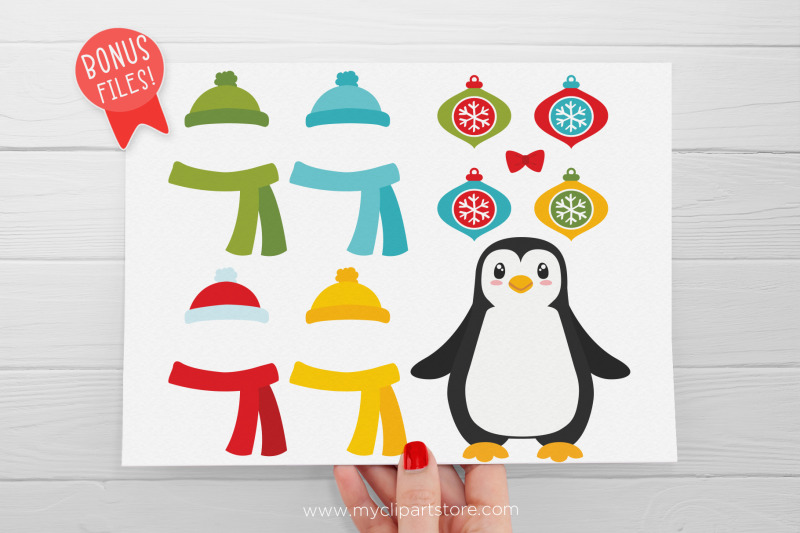 christmas-penguins-clipart-vector-svg