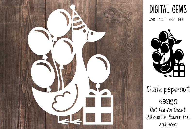 duck-paper-cut-design