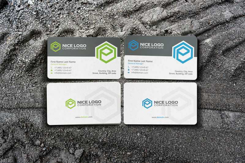 e-hexagon-business-card