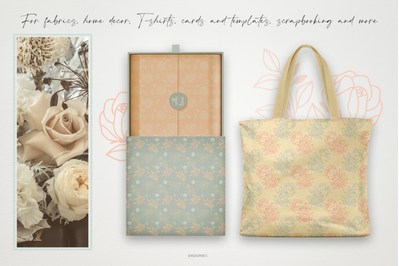 elegant-summer-roses-vector-patterns