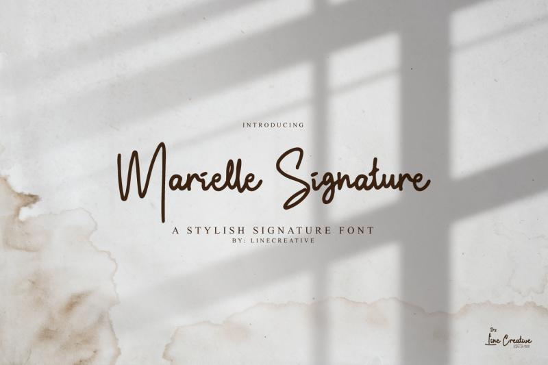 marielle-signature