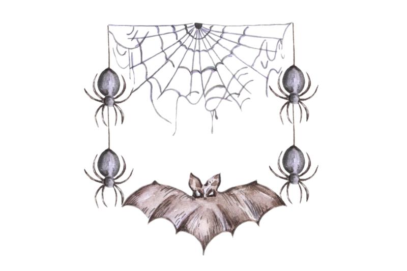halloween-party-invitation-halloween-frame-horror