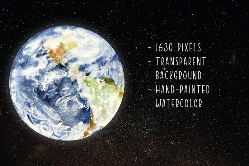 watercolor-earth-print-and-clip-art