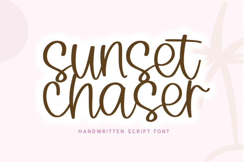 sunset-chaser-handwritten-script-font