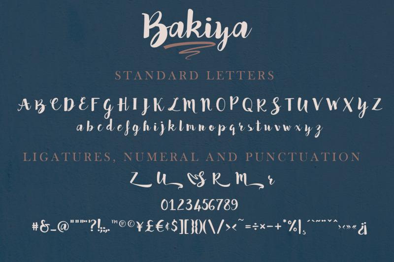 bakiya-handwritten-brush-font