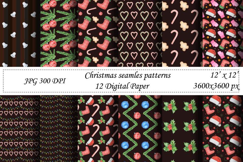 christmas-seamless-pattern-digital-paper-santa-new-year